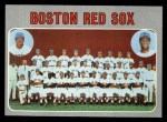 1970 Topps #563   Red Sox Team Front Thumbnail