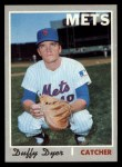 1970 Topps #692  Duffy Dyer  Front Thumbnail