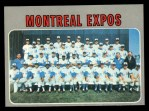 1970 Topps #509   Expos Team Front Thumbnail