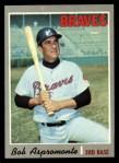 1970 Topps #529  Bob Aspromonte  Front Thumbnail