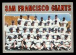 1970 Topps #696   Giants Team Front Thumbnail