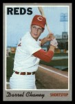 1970 Topps #3  Darrel Chaney  Front Thumbnail