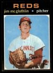 1971 Topps #556  Jim McGlothlin  Front Thumbnail