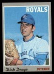 1970 Topps #37  Dick Drago  Front Thumbnail