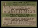 1971 Topps #204   -  George Kopacz / Bernie Smith Brewers Rookies Back Thumbnail