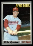 1970 Topps #235  Mike Epstein  Front Thumbnail