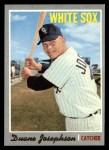 1970 Topps #263  Duane Josephson  Front Thumbnail