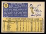 1970 Topps #295  Cecil Upshaw  Back Thumbnail