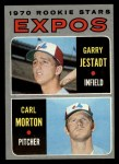 1970 Topps #109   -  Garry Jestadt / Carl Morton Expos Rookies Front Thumbnail