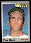 1970 Topps #277  Paul Doyle  Front Thumbnail