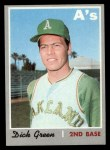 1970 Topps #311  Dick Green  Front Thumbnail