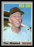1970 Topps #647  Tom Matchick  Front Thumbnail
