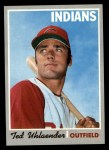 1970 Topps #673  Ted Uhlaender  Front Thumbnail