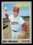 1970 Topps #697  Jim Hannan  Front Thumbnail