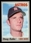 1970 Topps #355  Doug Rader  Front Thumbnail