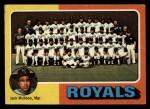 1975 Topps #72   -  Jack McKeon Royals Team Checklist Front Thumbnail