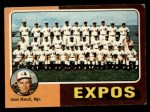 1975 Topps #101   -  Gene Mauch Expos Team Checklist Front Thumbnail