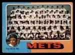 1975 Topps #421   -  Yogi Berra Mets Team Checklist Front Thumbnail