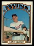 1972 Topps #51  Harmon Killebrew  Front Thumbnail