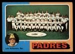 1975 Topps #146   -  John McNamara Padres Team Checklist Front Thumbnail
