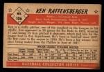 1953 Bowman #106  Ken Raffensberger  Back Thumbnail