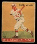 1933 Goudey #37  Jimmy Wilson  Front Thumbnail