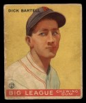 1933 Goudey #28  Dick Bartell  Front Thumbnail