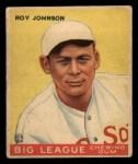 1933 Goudey #8  Roy Johnson  Front Thumbnail