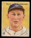 1933 Goudey #212  Billy Urbanski  Front Thumbnail