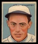 1933 Goudey #196  Leroy Mahaffey  Front Thumbnail