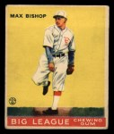 1933 Goudey #61  Max Bishop  Front Thumbnail