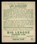 1934 Goudey #7  Leo Durocher  Back Thumbnail