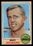1968 Topps #293  Bruce Howard  Front Thumbnail