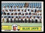 1979 Topps #282   -  Roy Hartsfield  Blue Jays Team Checklist Front Thumbnail