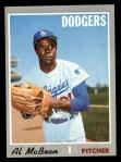 1970 Topps #641  Al McBean  Front Thumbnail