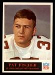 1965 Philadelphia #160  Pat Fischer   Front Thumbnail