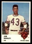 1961 Fleer #4  Jim Dooley  Front Thumbnail