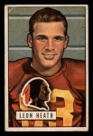 1951 Bowman #106  Leon Heath  Front Thumbnail