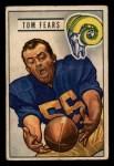 1951 Bowman #6  Tom Fears  Front Thumbnail