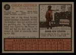 1962 Topps #27  Chuck Cottier  Back Thumbnail