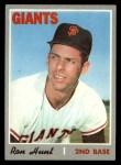 1970 Topps #276  Ron Hunt  Front Thumbnail