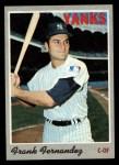 1970 Topps #82  Frank Fernandez  Front Thumbnail