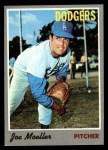 1970 Topps #97  Joe Moeller  Front Thumbnail