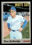 1970 Topps #123  Don Gutteridge  Front Thumbnail