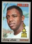 1970 Topps #288  Larry Hisle  Front Thumbnail