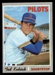 1970 Topps #688  Ted Kubiak  Front Thumbnail