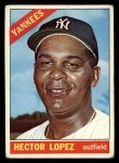 1966 Topps #177  Hector Lopez  Front Thumbnail