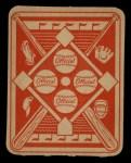 1951 Topps Red Back #44  Sid Hudson  Back Thumbnail
