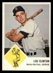 1963 Fleer #6  Lou Clinton  Front Thumbnail