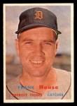 1957 Topps #223  Frank House  Front Thumbnail